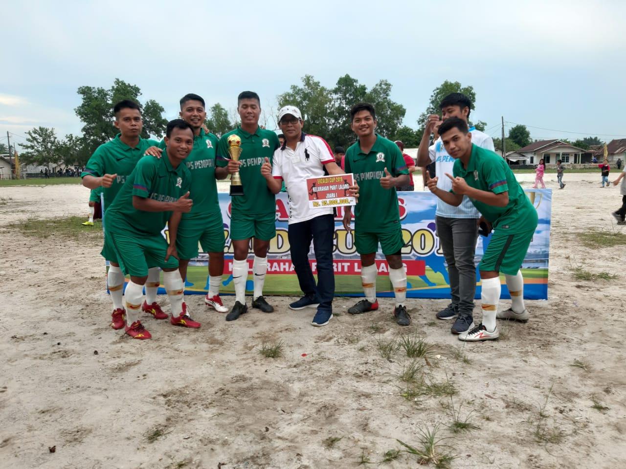 Pertandingan Berlangsung Sengit, Pemprov Babel FC Juarai Erzaldi CUP 2019