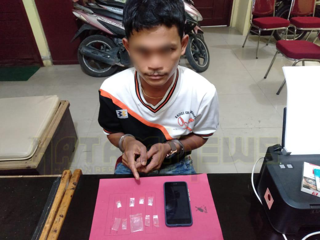 Polsek Tambang Ungkap Penyalahgunaan Narkotika Di Koto Perambahan