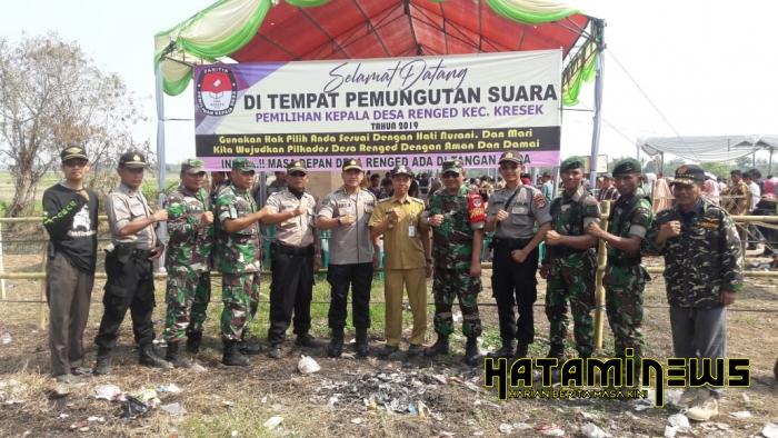 Warga Kresek Apresiasi TNI dan Polri Pilkades Berjalan Lancar, Aman dan Kondusif