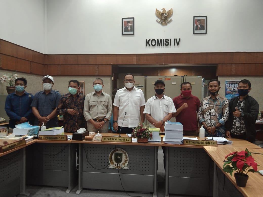 Warga Jalur Kuning Datangi Komisi IV DPRD Riau, Nasrul : Pak Yuyun Berjanji Maksimalkan UPT & Swakel