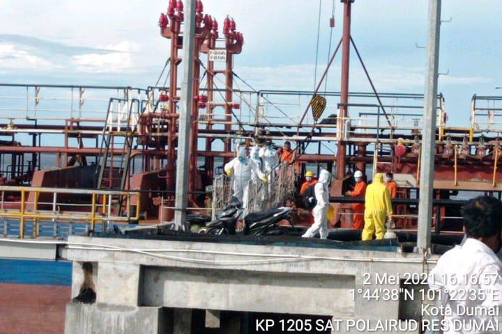 Kapal Dari India Dipelabuhan Dumai, 4 ABK Positif Covid-19