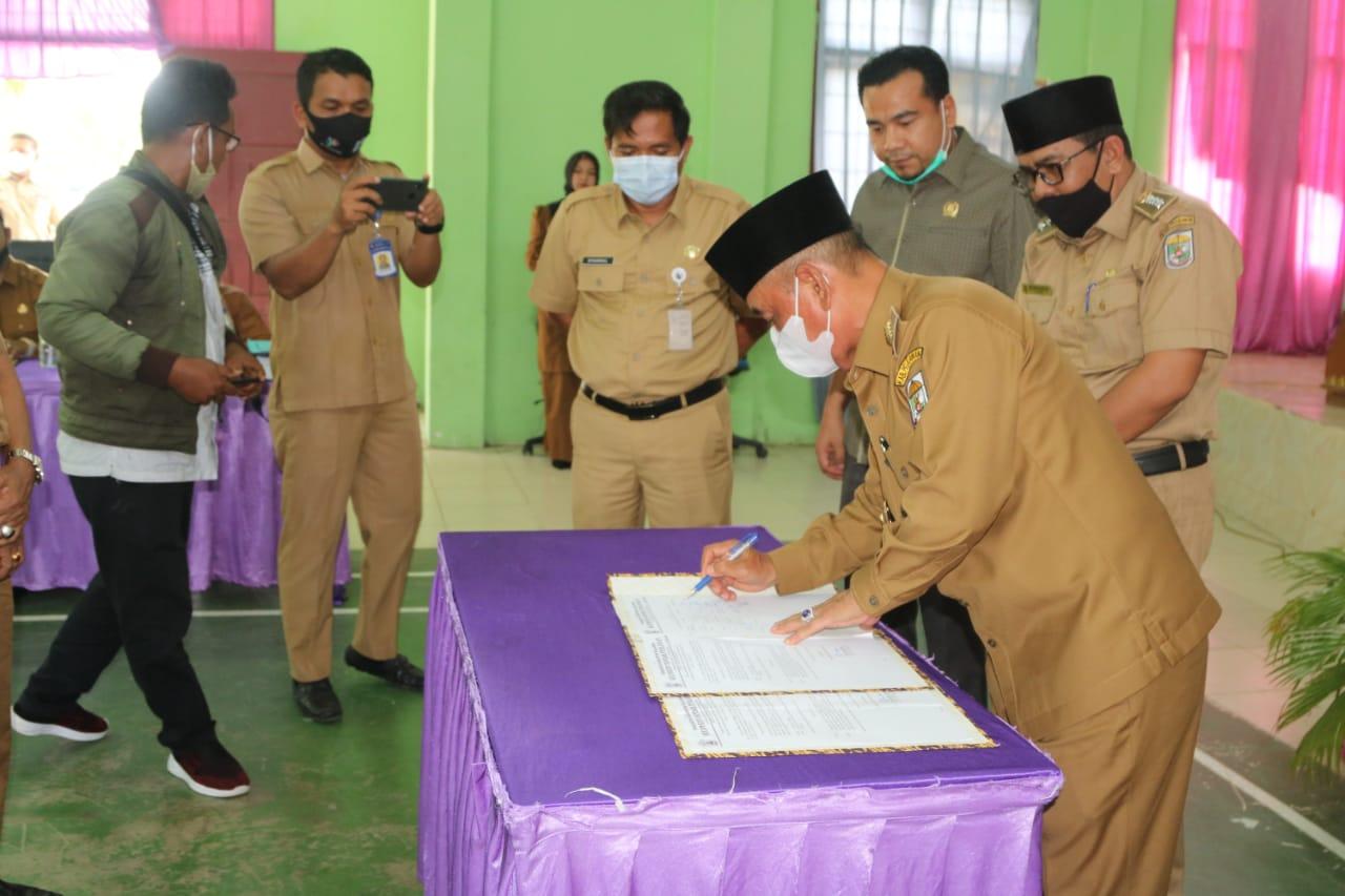 Musrenbang RKPD Kecamatan Bandar Petalangan, Bupati : Persaingan Global, Pelalawan Daerah Investasi