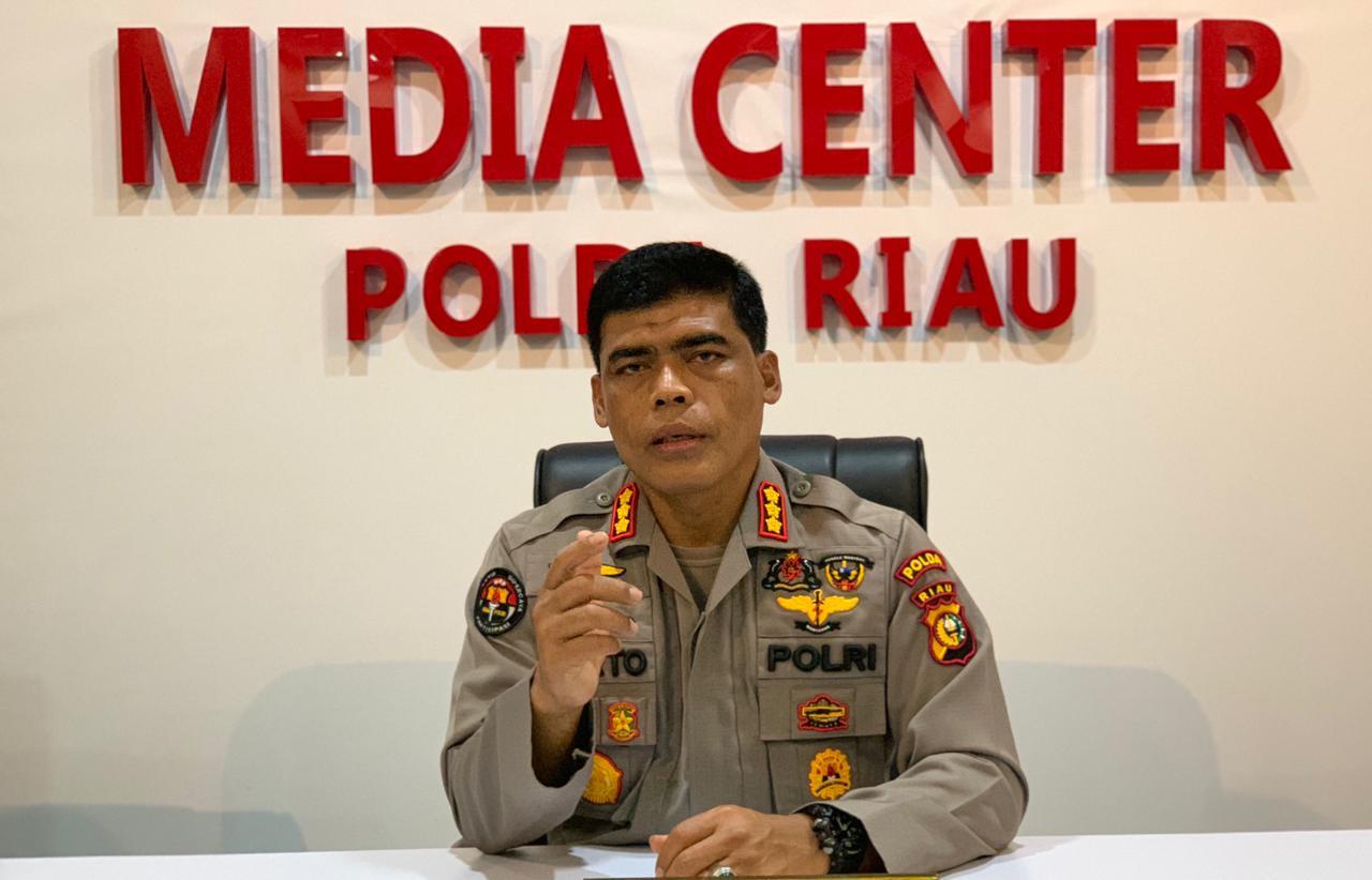Humas Polda Riau : Polri Bertindak Profesional, Wajib Hukumnya !
