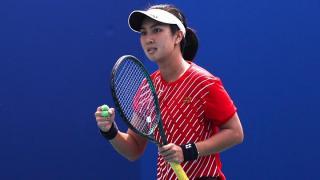 Ganda Putri Tenis Persembahkan Medali Emas