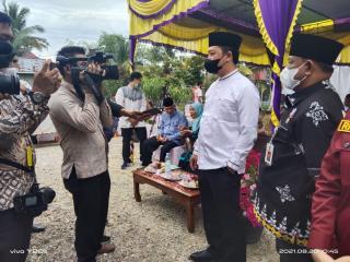 Kotaku, Hari Ini Peletakan Batu Pertama Di 4 Desa se-Kabupaten Kampar