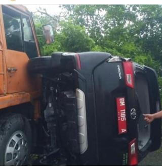 Kapolres Kampar Ungkap Informasi Yang Beredar Tentang Longsor KM 77